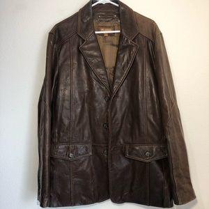 Vintage Wilson's leather jacket men's Medium
